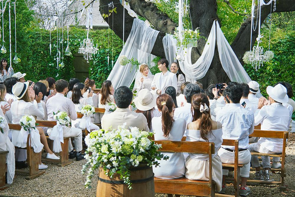 ハナユメ 結婚式シーン