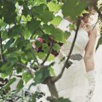 花嫁のヘアスタイルは花冠が人気!スタイルごとに画像で紹介!