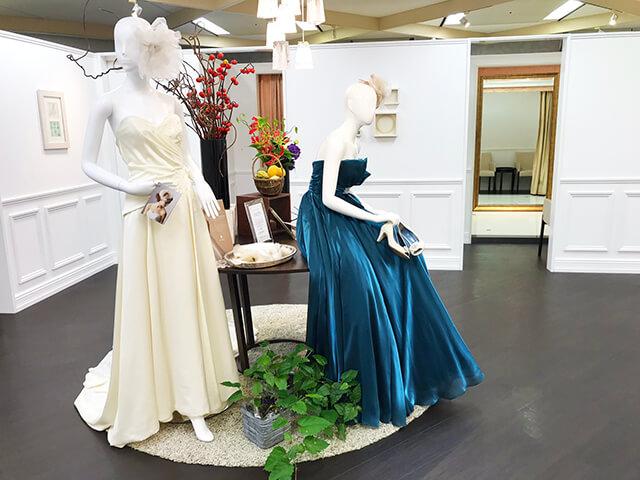 会費婚大阪体験レポ衣装室