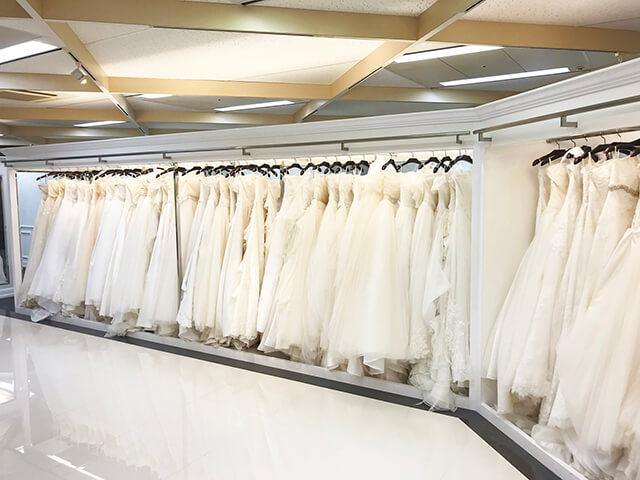 会費婚大阪体験レポウェディングドレス