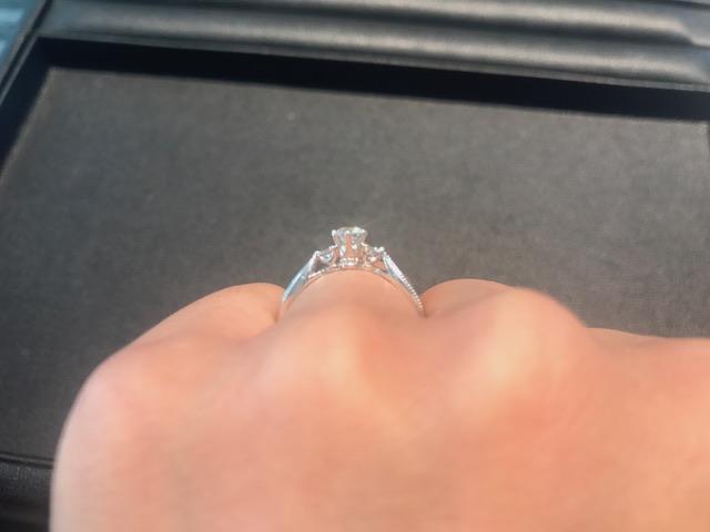 エクセルコダイヤモンド婚約指輪体験レポエリザベート