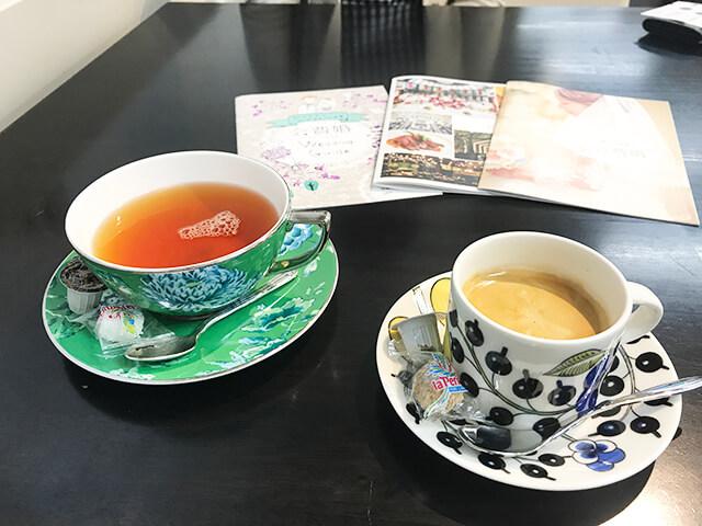 会費婚大阪体験レポウェルカムドリンク