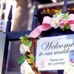 結婚式のウェルカムボードの文字や言葉のアイデアを紹介!