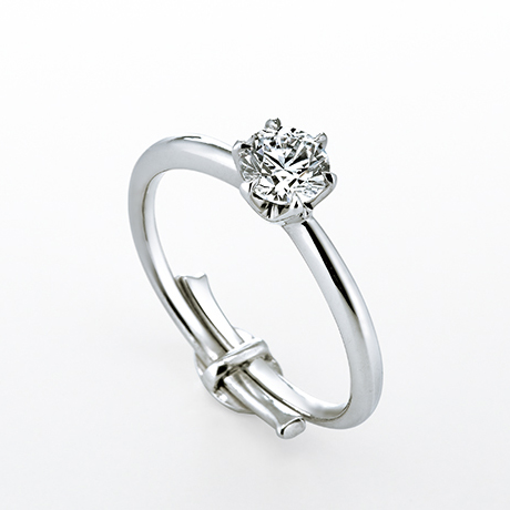 ダイヤモンドシライシスマイルプロポーズリング