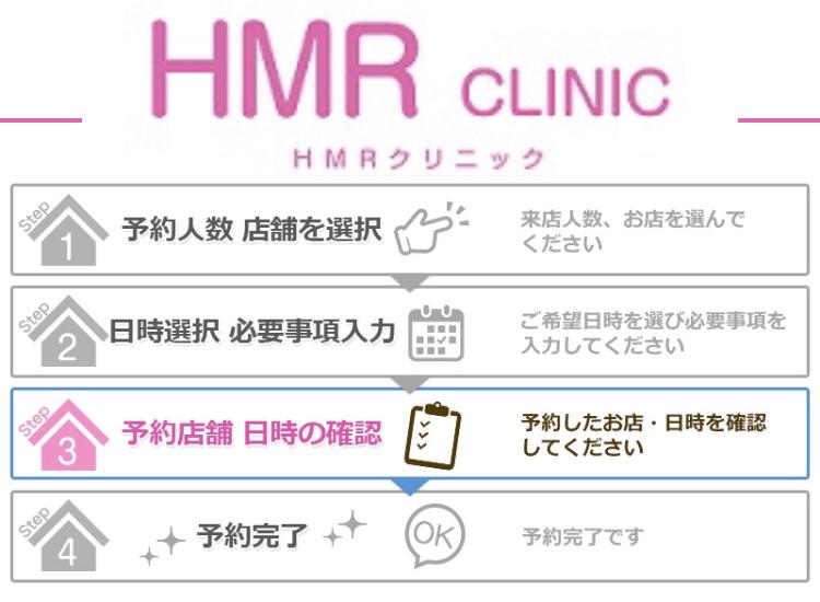 HMRクリニック予約