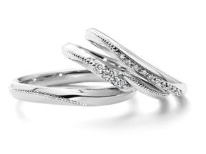 エクセルコダイヤモンド結婚指輪コロネット