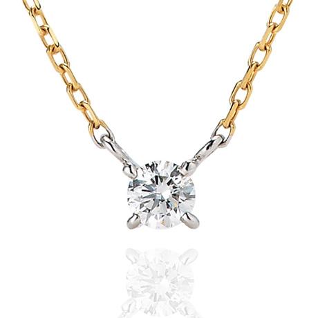 ダイヤモンドシライシアニバーサリーネックレス