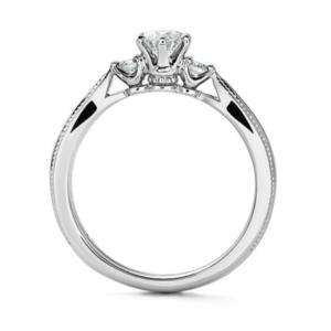 エクセルコダイヤモンド婚約指輪エリザベート横