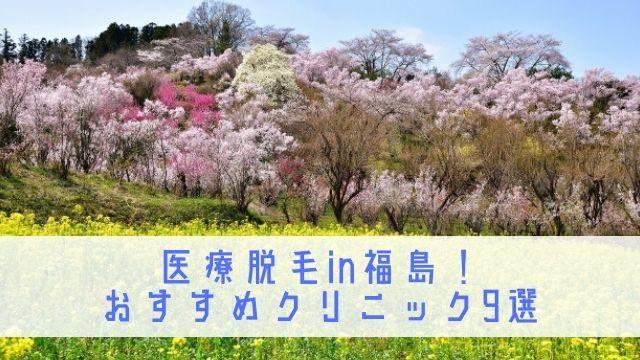 医療脱毛 福島
