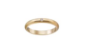 シンプルな結婚指輪のオーダーメイド