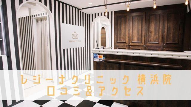 レジーナクリニック 横浜 口コミ アクセス