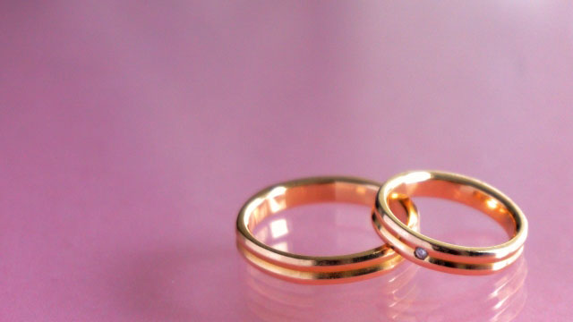 結婚指輪 ゴールド