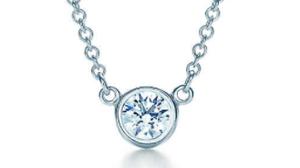 ティファニーダイヤモンド バイ ザ ヤード™ シングル ダイヤモンド ペンダント