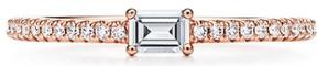 ティファニーホライゾンリングK18RGダイヤモンド