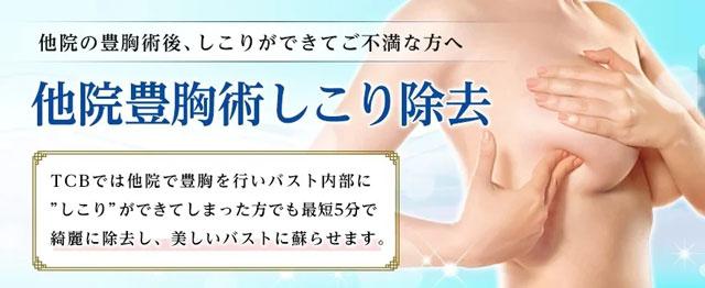 TCB東京中央美容外科 豊胸 ヒアルロン酸注入